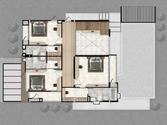 2 Floor Plan - Afton Villa | Plover Cove Luxury Villas